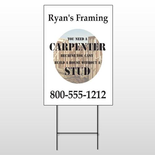 Framing 237 Wire Frame Sign