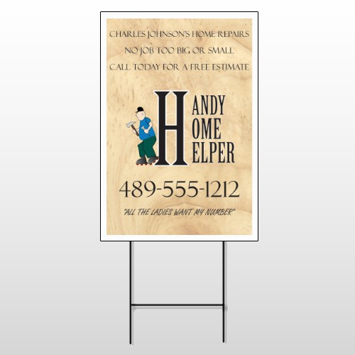 Home Repair 242 Wire Frame Sign