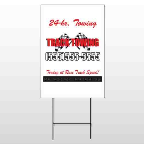 Towing 311 Wire Frame Sign