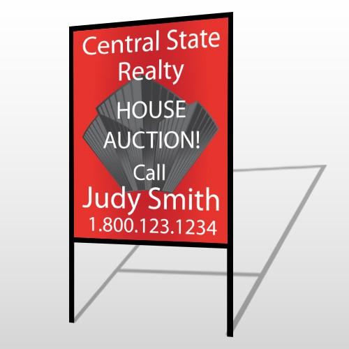 Buildings 221 H-Frame Sign