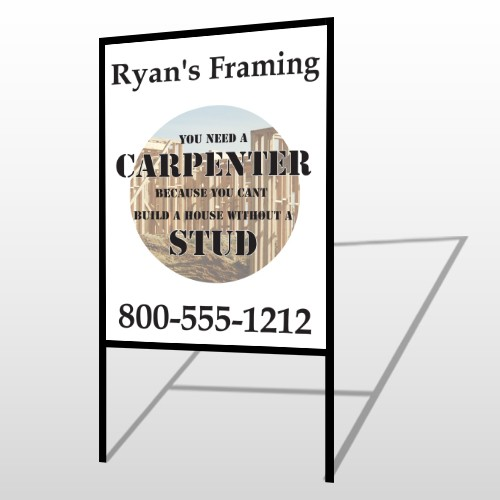 Framing 237 H-Frame Sign