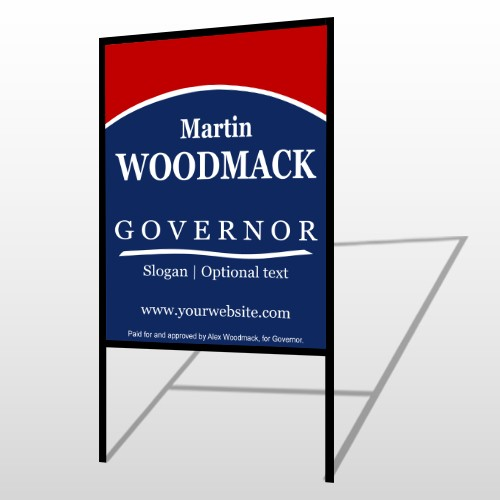 Governor 308 H-Frame Sign