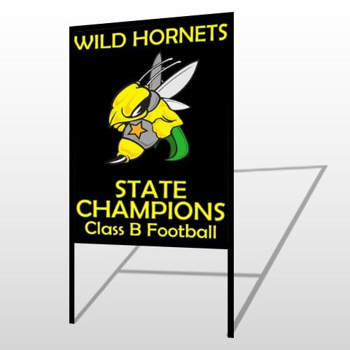 Hornet 44 H Frame Sign