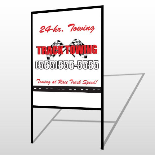 Towing 311 H-Frame Sign