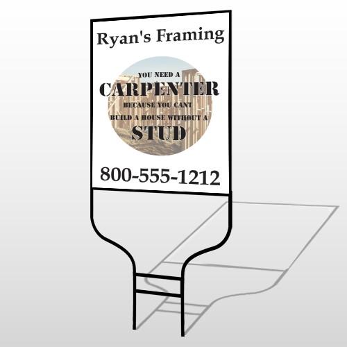 Framing 237 Round Rod Sign
