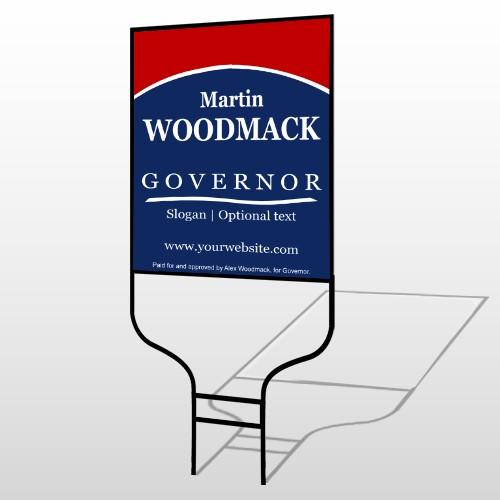 Governor 308 Round Rod Sign