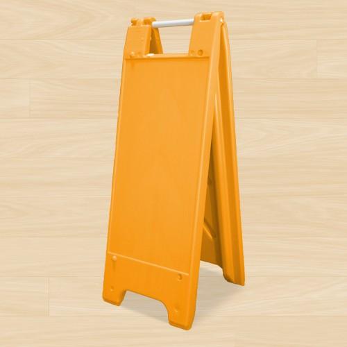 """A Frame 12""""W x 24""""H Orange"""