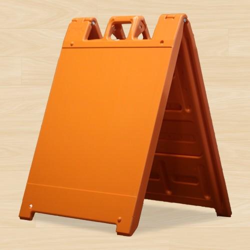 """A Frame 24""""H x 24""""W Orange"""