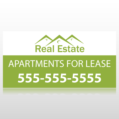 Apartments For Lease Banner