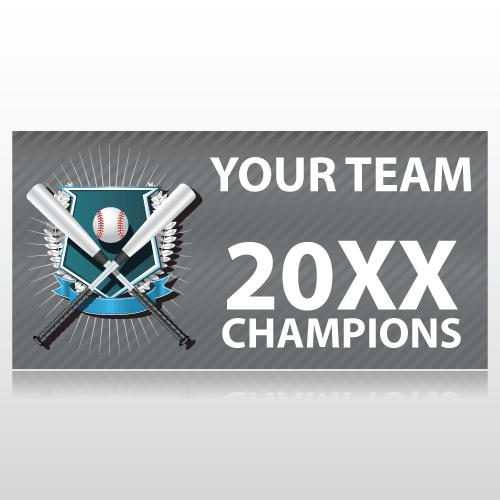 Baseball Champions Sports Banner