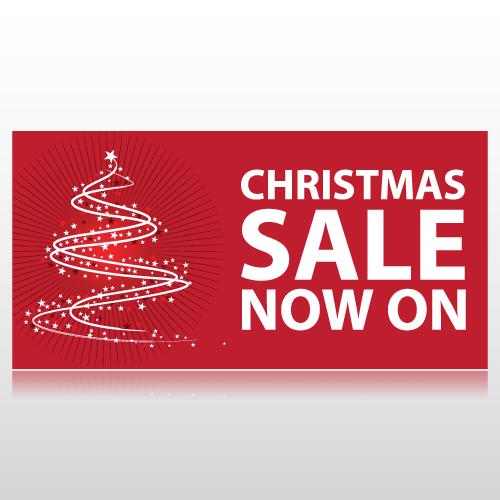 Christmas Sale Now On Banner