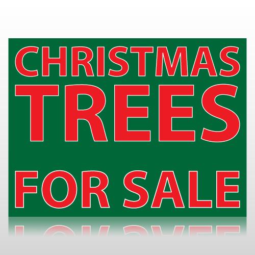 Christmas Trees For Sale Sign Panel