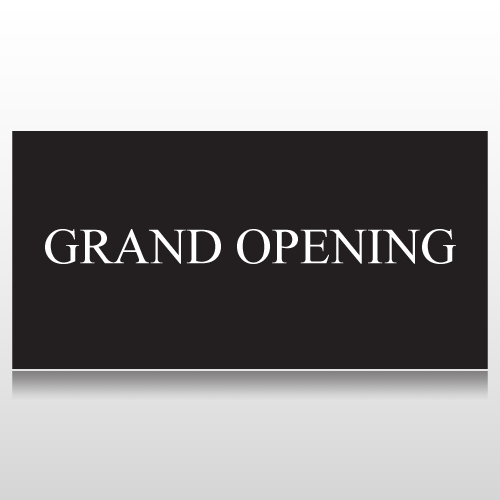 Classic Grand Opening Banner