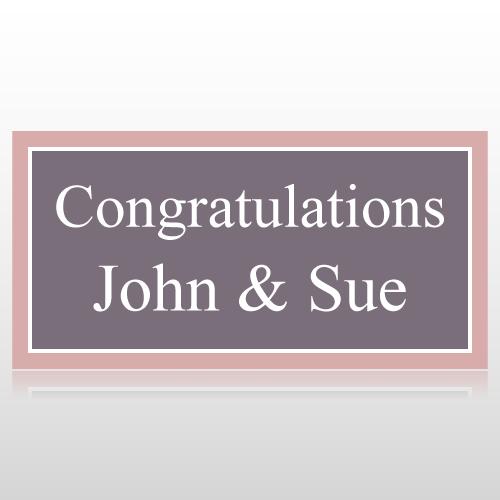 Congratulations Wedding Banner