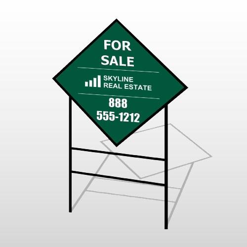 Skyline 26 H-Frame Diamond Sign