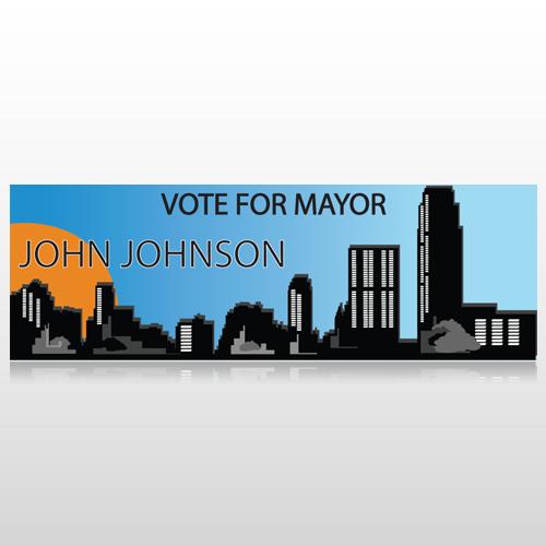 Vote Mayor City 263 Custom Sign