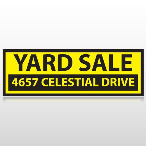 Yellow Black 551 Custom Sign