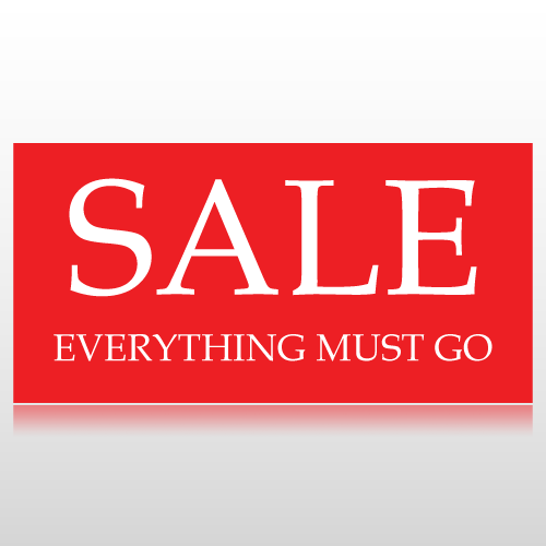 Everything Must Go Banner