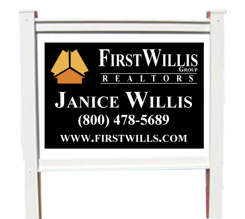 """Vinyl Frame and Corrugated Sign Kit 48""""H x 96""""W"""