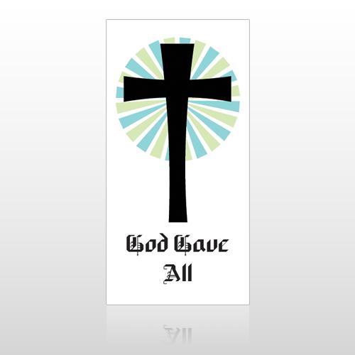 God Gave 118 Hanging Banner