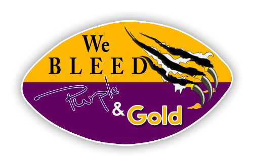 "Floor  Decal 14""H x 24""W Football"