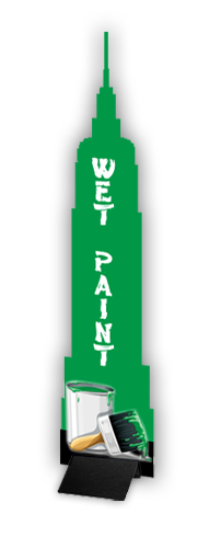 "Wedge Building Sign Kit 3mm Rigid 15""W x 72""H"