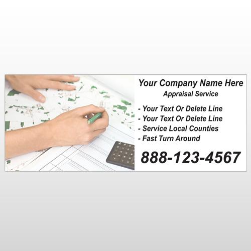 Hand Planning 260 Custom Banner