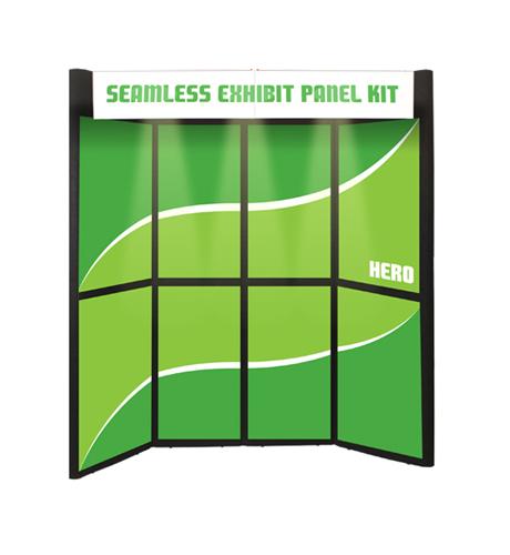 Hero Display 8' Kit with Graphics, No Bag