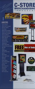 """ONT800 Retractable Heavy Weight Banner 31.5""""W x 84""""H"""
