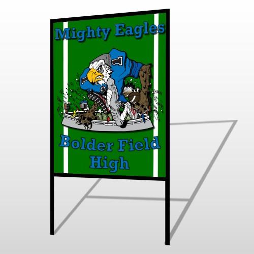 Green 56 H Frame Sign