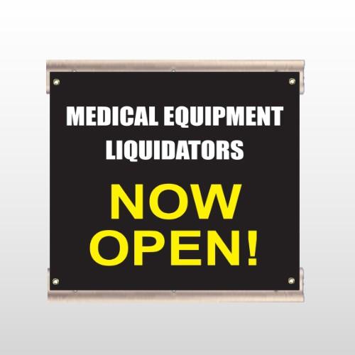 Medical Liquidators 98 Track Sign