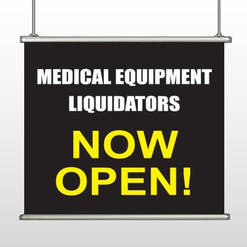 Medical Liquidators 98 Hanging Banner