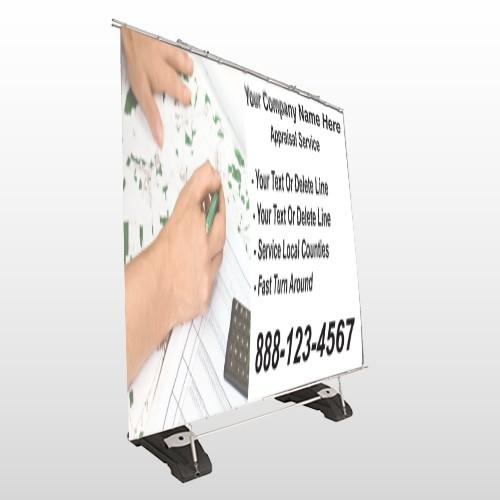 Hand Planning 260 Exterior Pocket Banner Stand