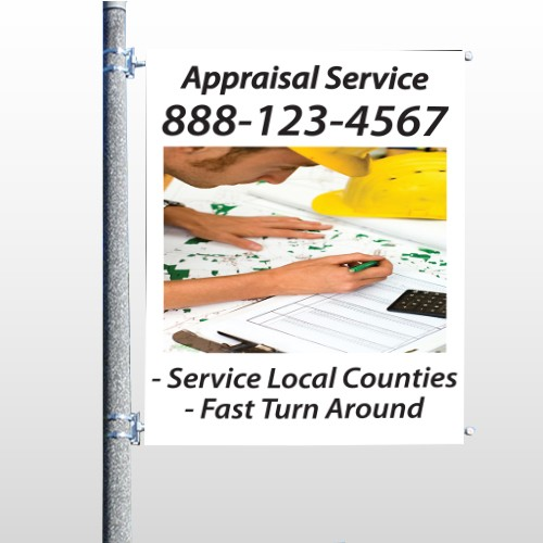 Hand Planning 260 Pole Banner