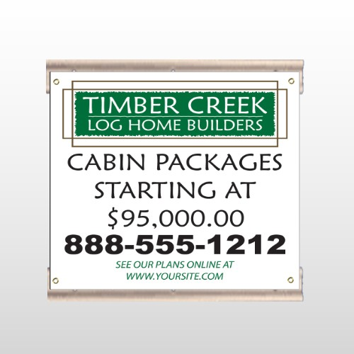 Log Builder 40 Track Sign