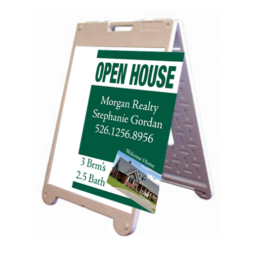 """Replacement Rigid Sign 22""""W x 28""""H for A-Frame"""