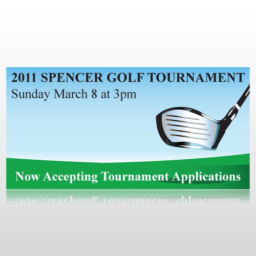 Golf Tournament Banner