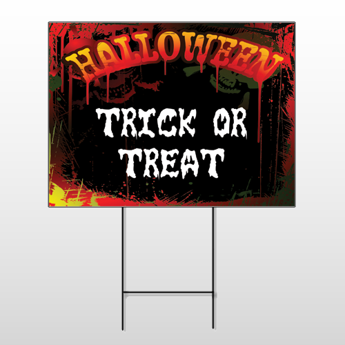 Halloween 15 Wire Frame Sign