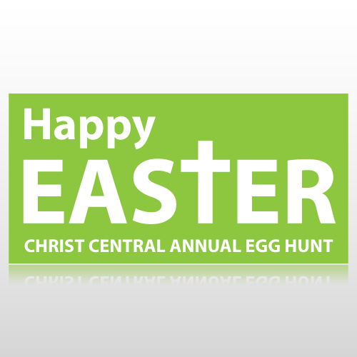 Happy Easter Community Egg Hunt Banner