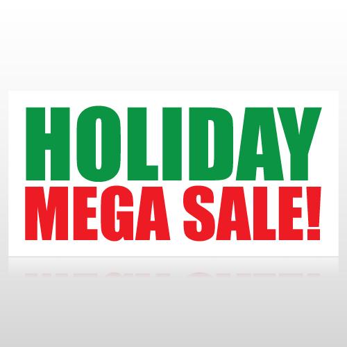 Holiday Mega Sale Banner