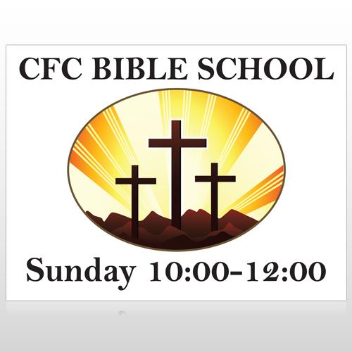 3 Crosses 149 Site Sign