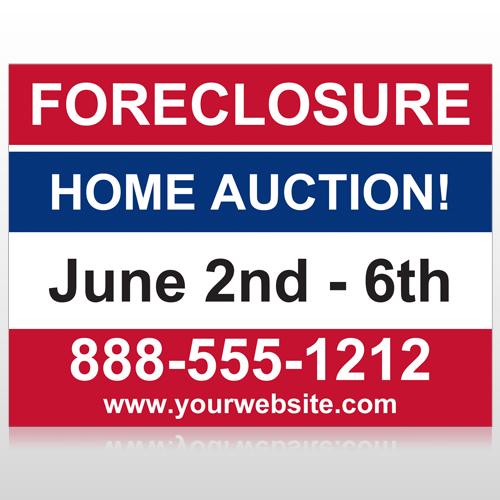 Auction 49 Custom Sign