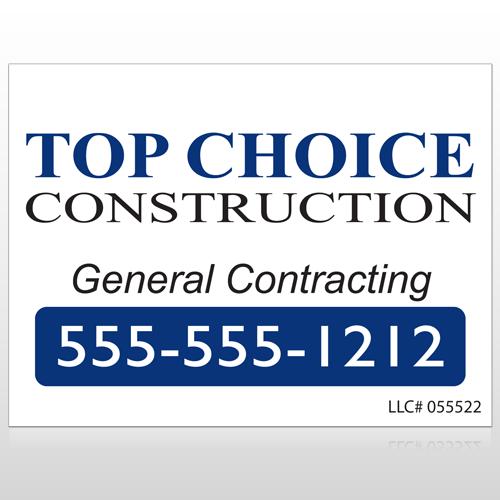 Construction 70 Custom Sign
