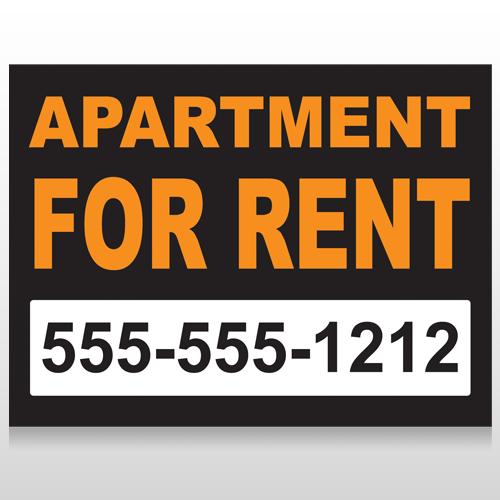 For Rent 45 Custom Sign
