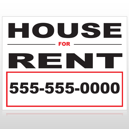 For Rent 138 Custom Sign