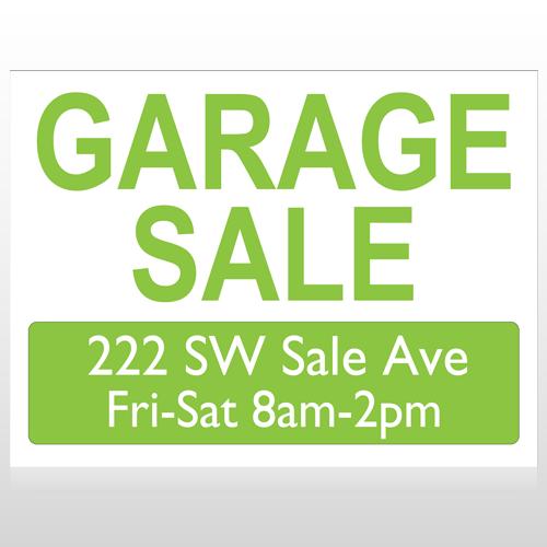 Garage Sale 92 Custom Sign