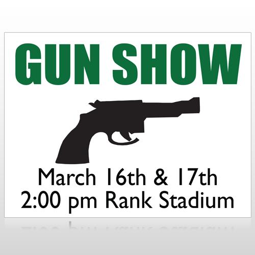Gunshow 74 Custom Sign