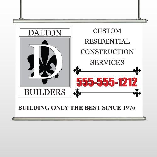 Builder 34 Hanging Banner
