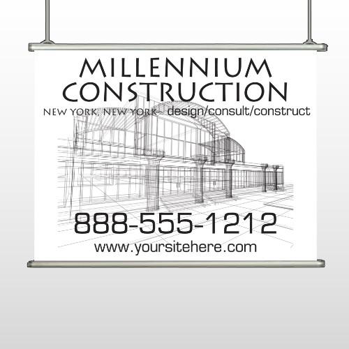Builder 36 Hanging Banner
