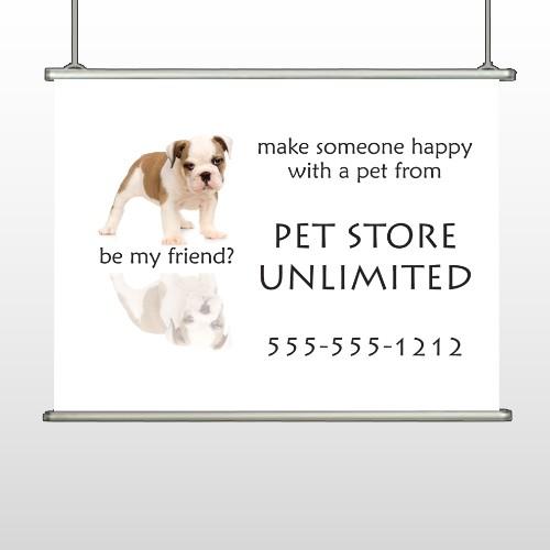 Petstore 26 Hanging Banner